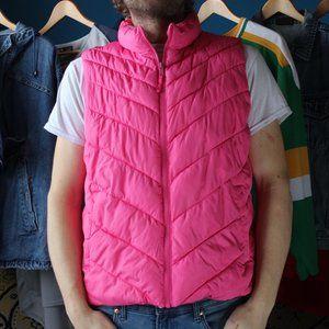 2015 GAP Bold Pink Hottest Puffer Vest